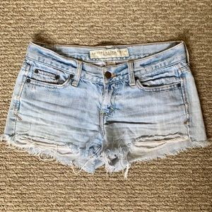 Abercrombie and Fitch women's Jean shorts
